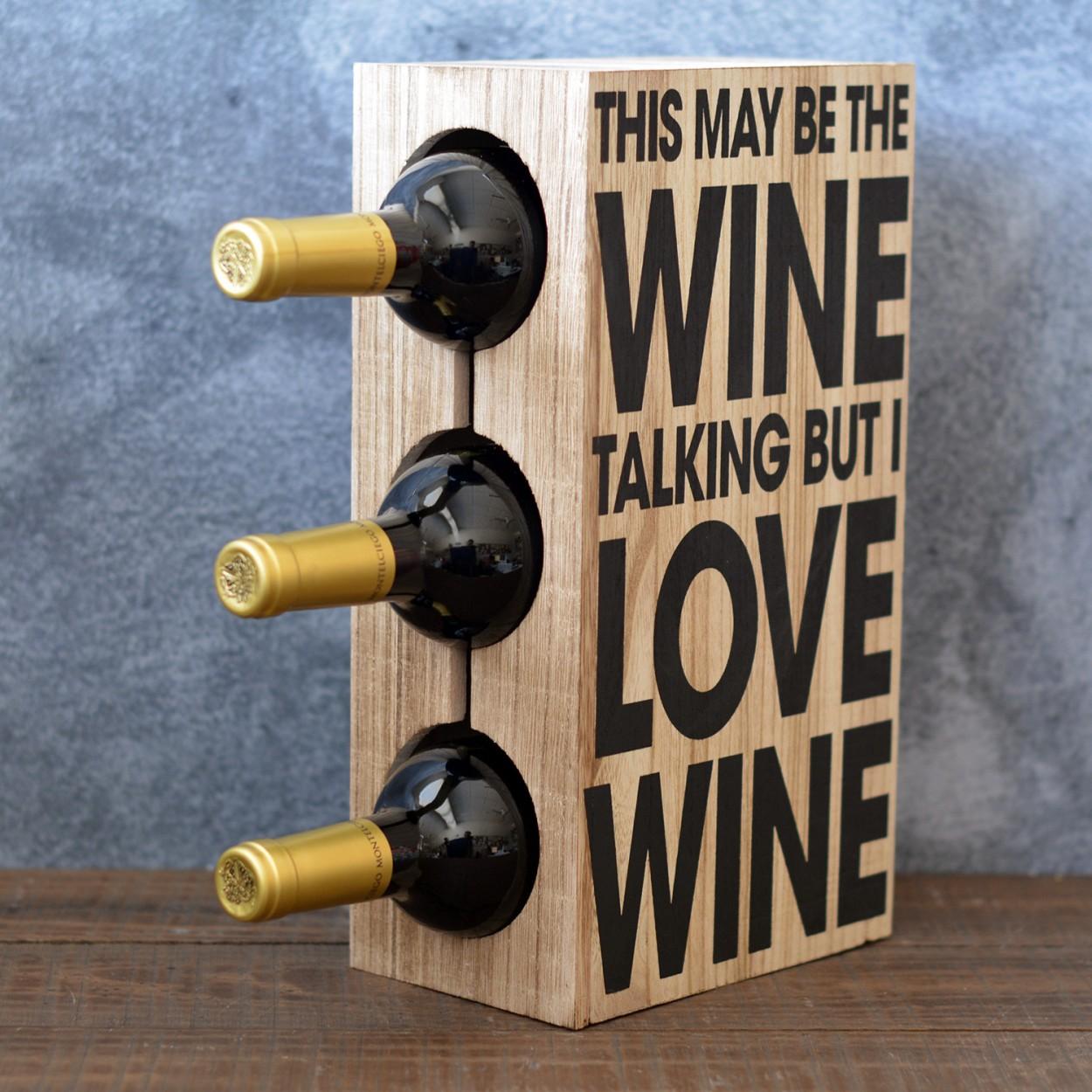 Comprar botellero para vino en madera hogar y m s - Botelleros de madera para vino ...