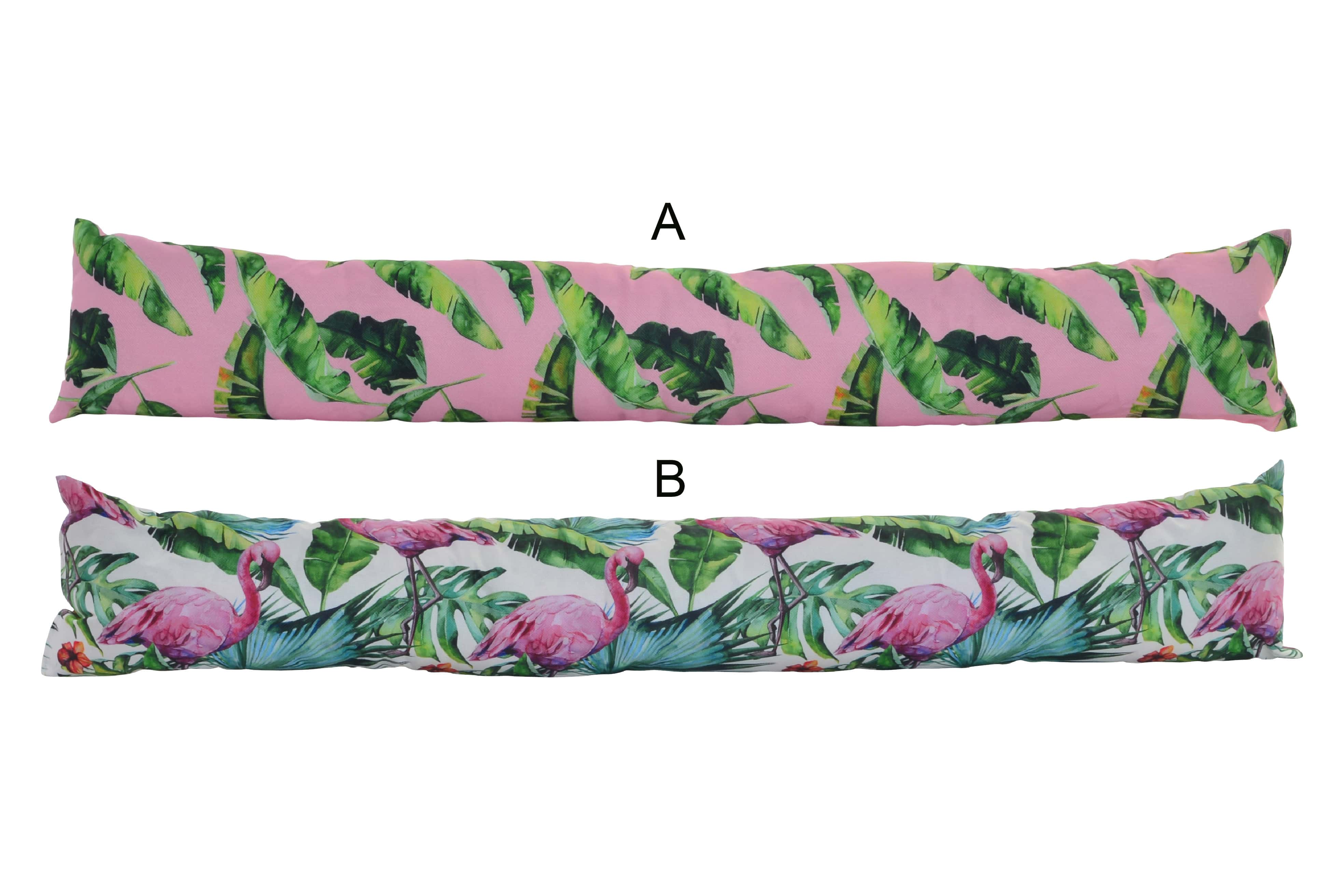 Home and more - Windbreak for the door canvas. Edition tropical.