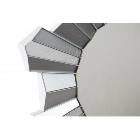 Espejos pared decorativos redondos de resina color - Espejos color plata ...