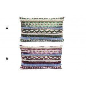 Home and more - Cushion Boho Ethnic rectangular. 2 models