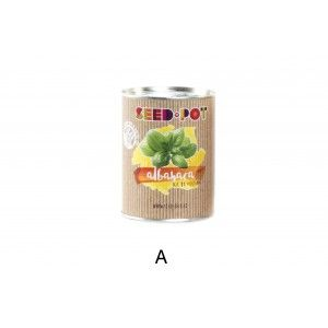 Home and more - grow Kit in Metal Tin. 4 spices