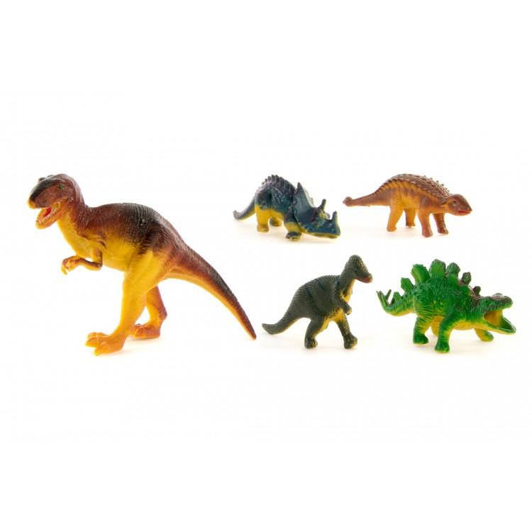 Hogar y más - Dinosaurios. Set de 12 piezas de PVC