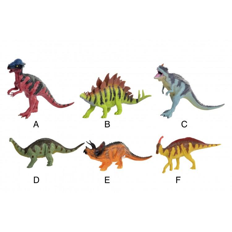 Hogar y más - Dinosaurios de Juguete de Pvc. 6 modelos