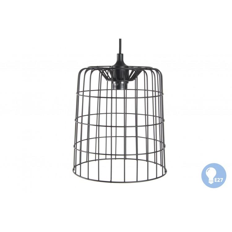 Hogar y más - Lámpara de Techo de Metal. Estilo Jaula