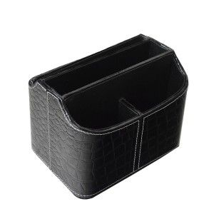 Home and More - Portamandos practical leatherette with 5 compartments. Modern style.