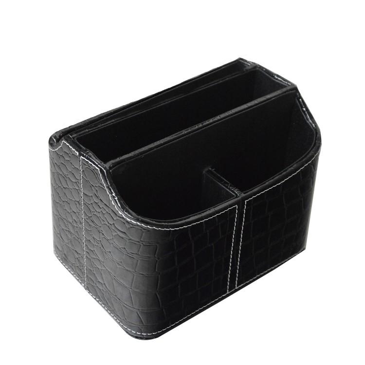 Hogar y Más - Portamandos práctico de polipiel con 5 compartimentos. Estilo moderno.