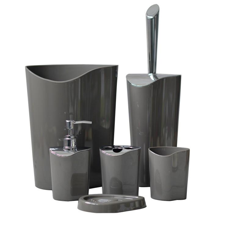 Hogar y más - Set de baño de seis piezas- Diseño Original