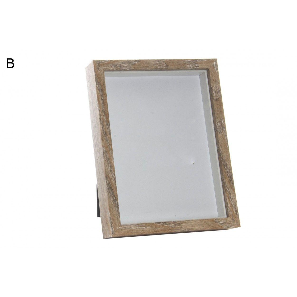 Hogar y m s marco de fotos de madera 2 tonos hogar y m s - Marcos de fotos madera ...