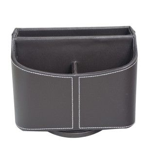 Portamandos swivel leatherette with 5 compartments. Modern style. - Home and more