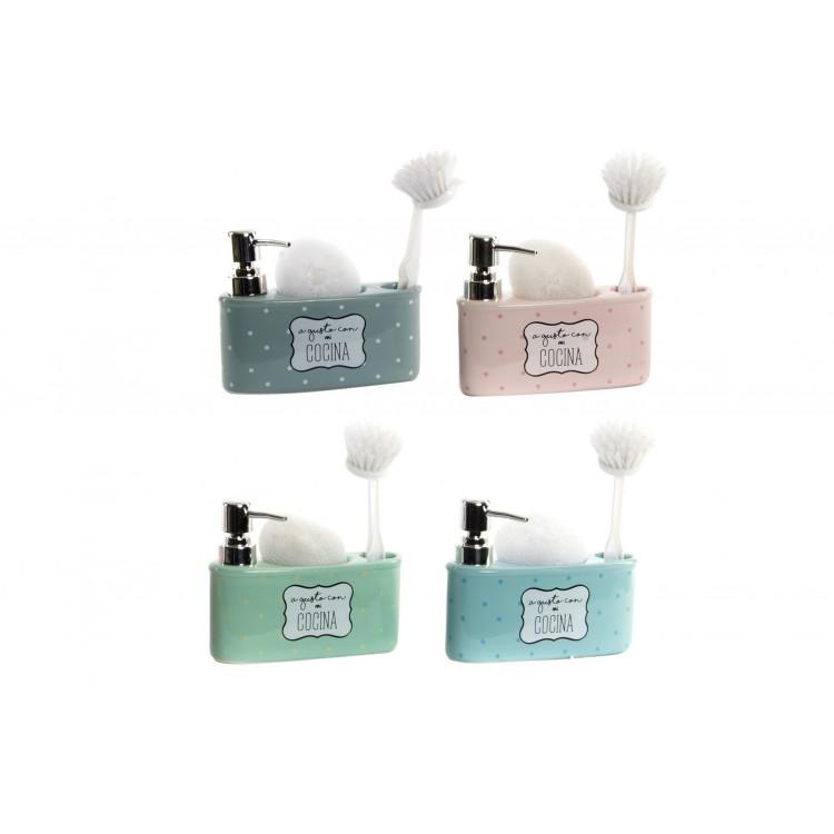 Hogar y más - Dosificador de jabón para cocina. 4 colores