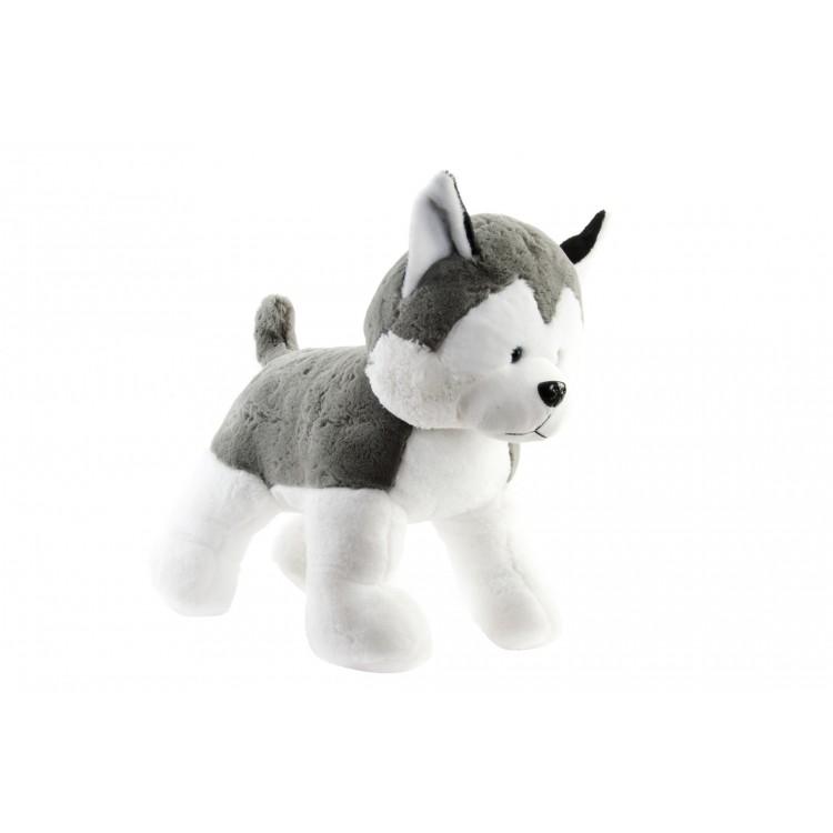 Hogar y más - Perro de poliéster. husky siberiano