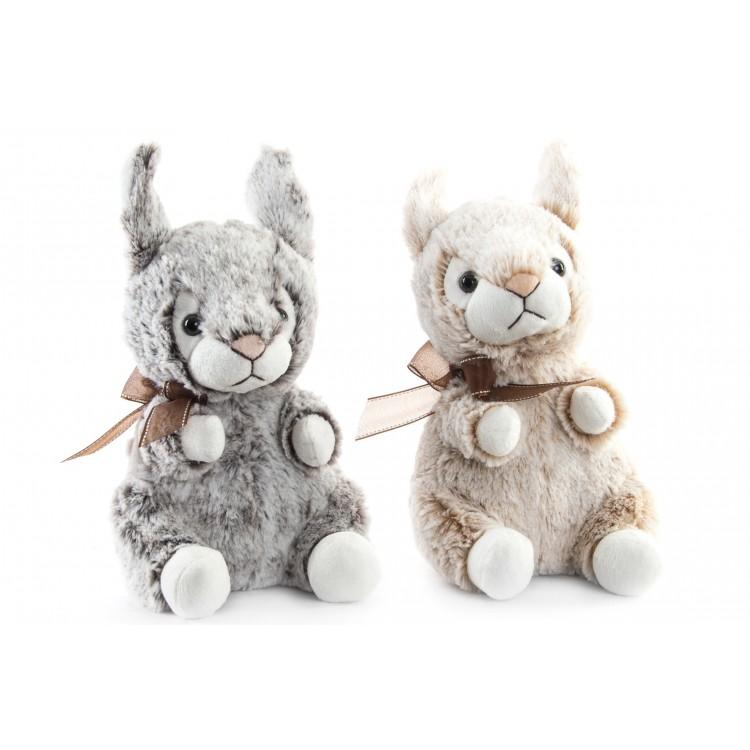 Hogar y más - Conejo de peluche. Poliéster 2 colores