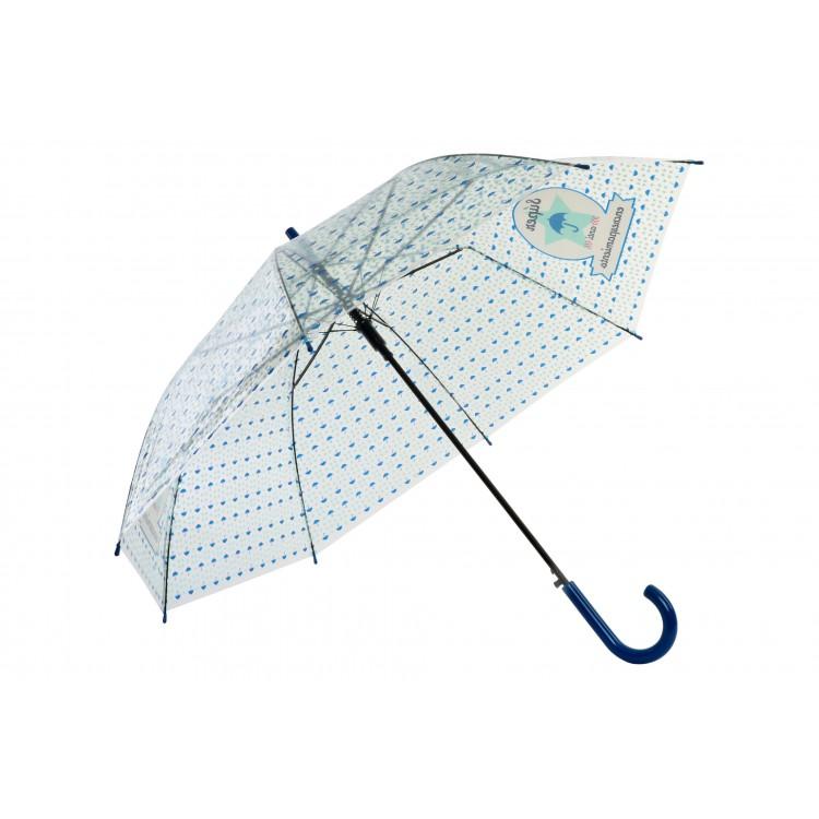 Hogar y más - Paraguas Antiencrespamiento. Poe transparente
