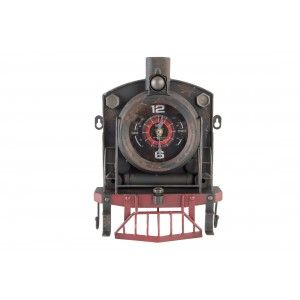 Home and more - Desktop Clock. Locomotive