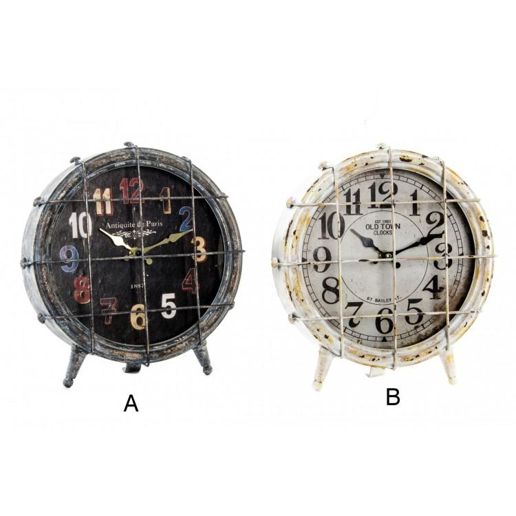 Hogar y más - Reloj de sobremesa Envejecido Vintage. 2 modelos