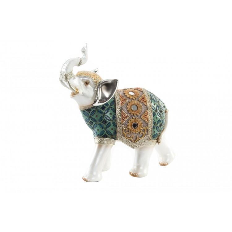 Hogar y más - Elefante blanco de resina para decorar