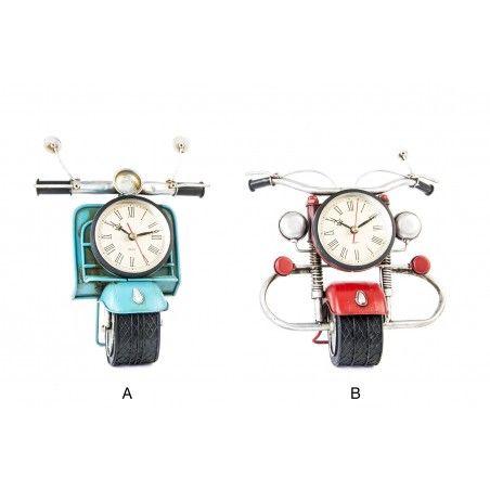 Hogar y más - Original reloj de Sobremesa con forma de moto. 2 modelos