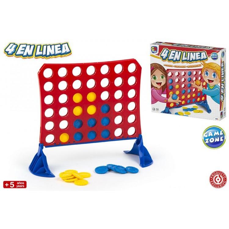 Hogar y Más - Cuatro en línea entretenido juego de mesa de toda la vida ¡Lo bueno nunca se va! Fun Time