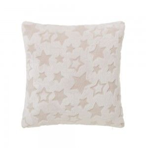 Home and more - Cushion of Flannel and polyester. Stars