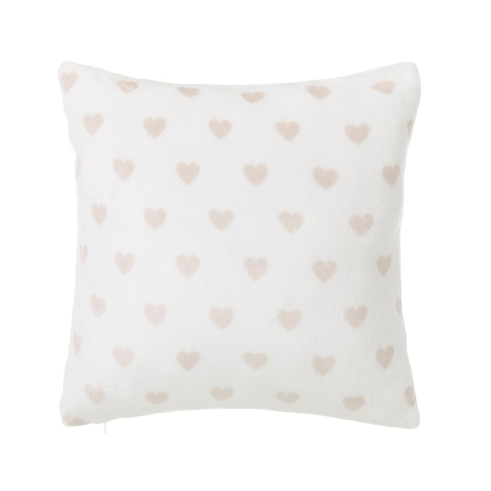 Home and more - Cushion flannel hearts
