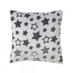 Home and more - Cushion-grey flannel. Model Star