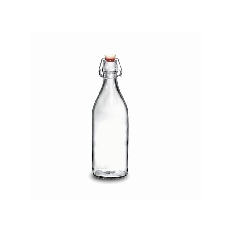 Botella de cristal 0.5L Modelo Giara clásico- Hogar y mas