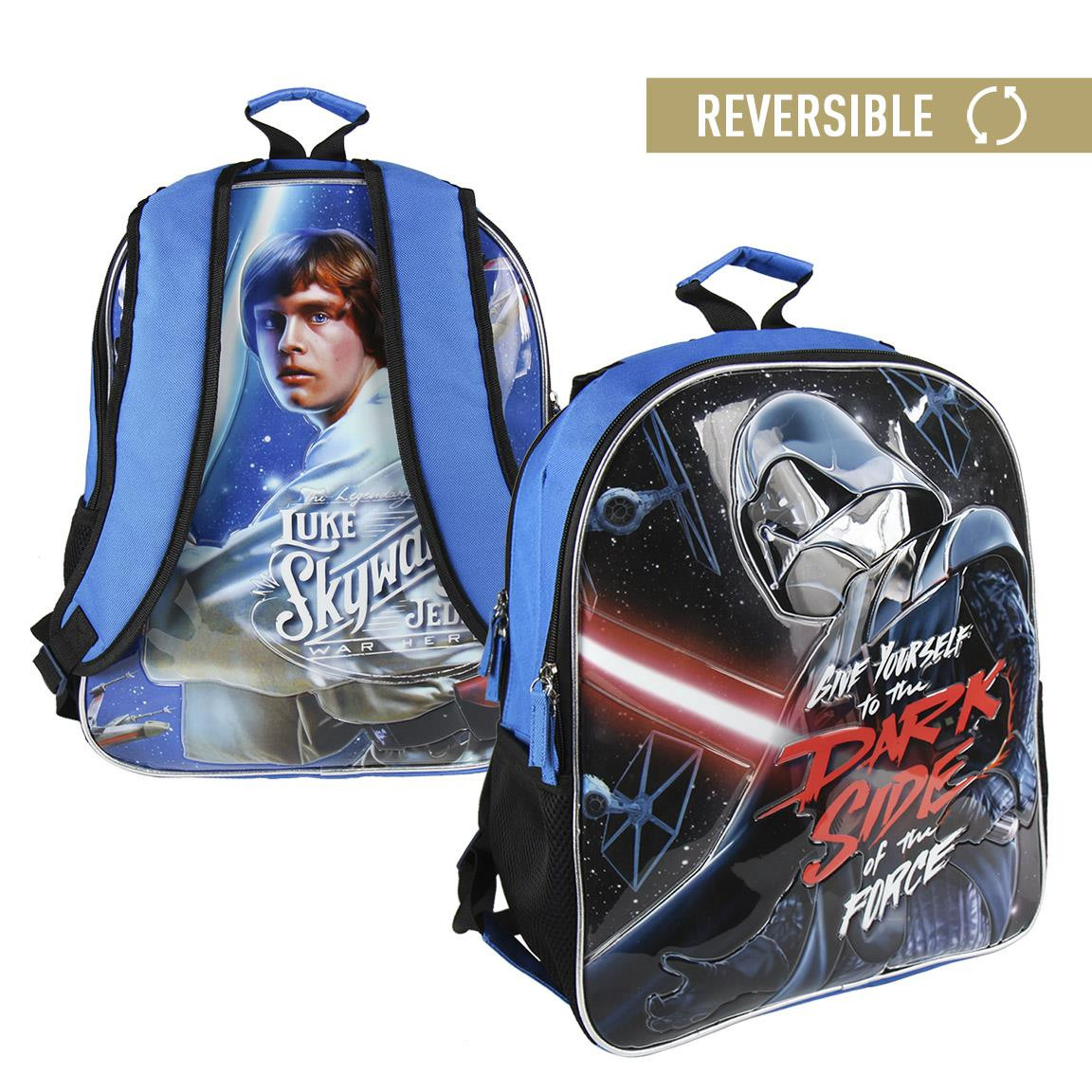 Children's backpack Star Wars reversible with two illustrations - Home and More