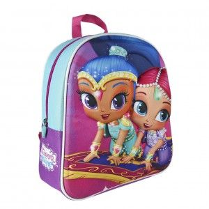 Children's backpack cute and comfortable practice of Shimmer & Shine - Home and More