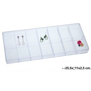 Box multifunctional practice and transparent with 14 compartments - Home and More