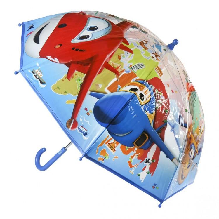 Paraguas burbuja infantil con simpaticos aviones - Hogar y MAs