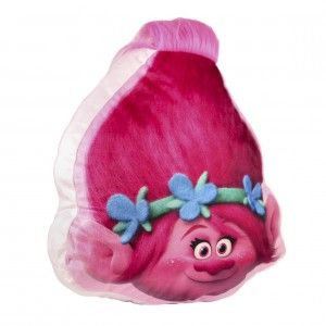Cojín de Poppy de los Trolls 3D alegre y divertido - Hogar y Mas