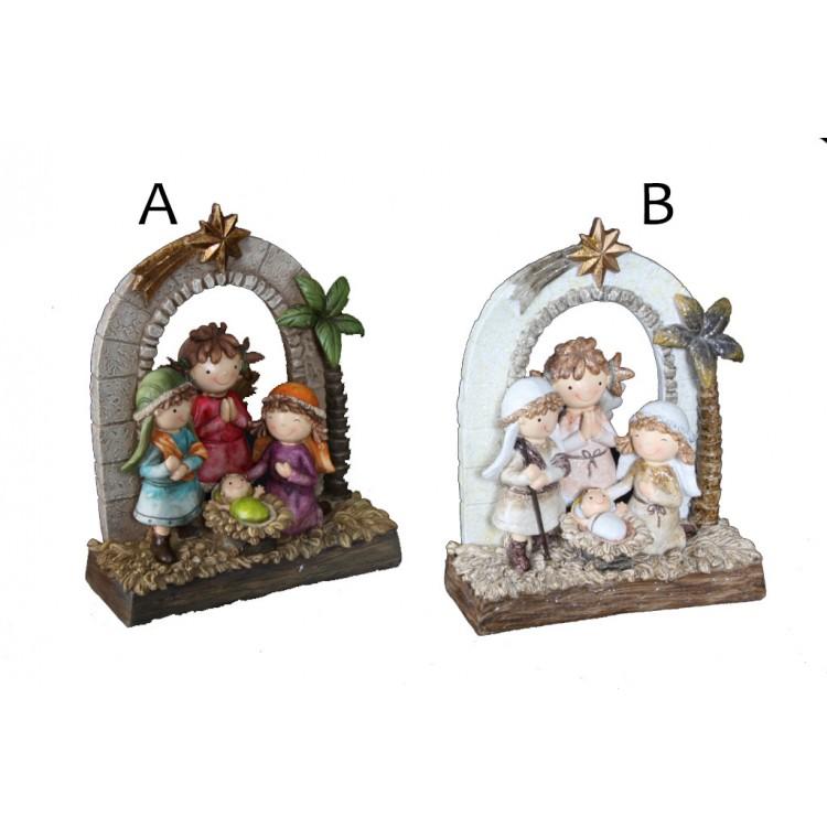 Belen Navideño simpático disponible en dos modelos Happy Christmas - Hogar y Mas