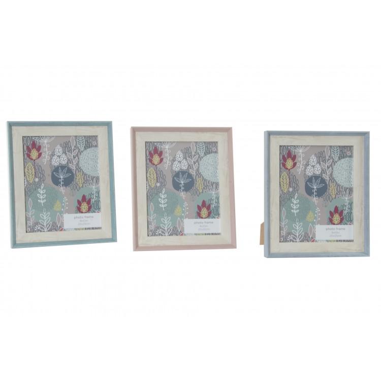 Marco de foto nórdico de pie de madera natural en 3 colores - Hogar y Mas