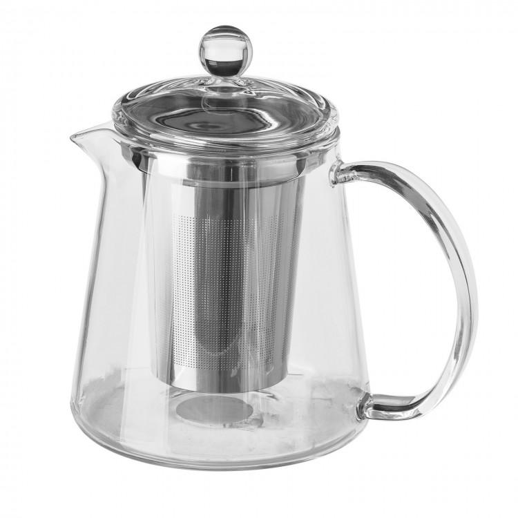Tetera de cristal con filtro de acero inoxidable- Hogar y más