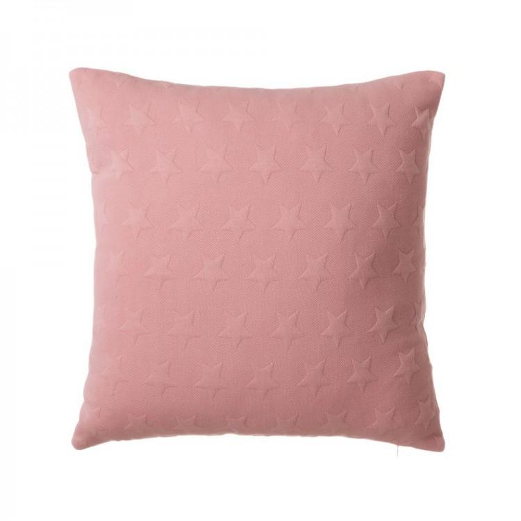 Cojín de Jacquard de color rosa - Hogar y más