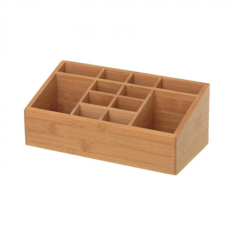 Organizador de madera de bambú - Hogar y más
