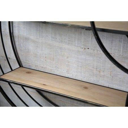 Estantería de madera natural Modelo Eye London -
