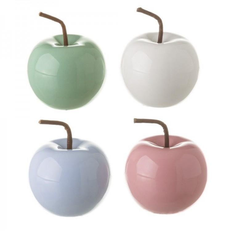 Manzana decorativa de cerámica - Hogar y más