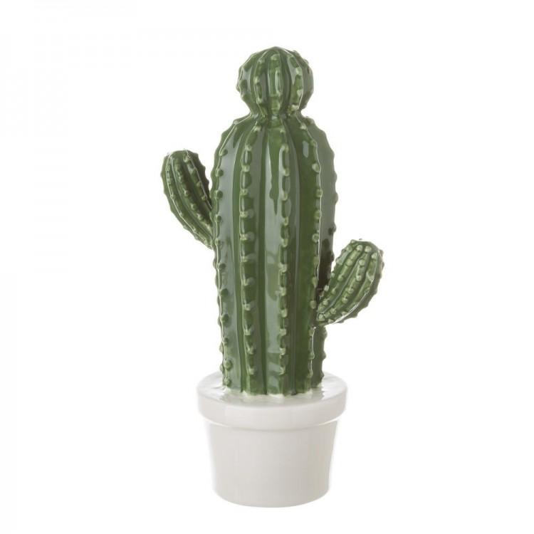 Cactus decorativo de cerámica - Hogar y más