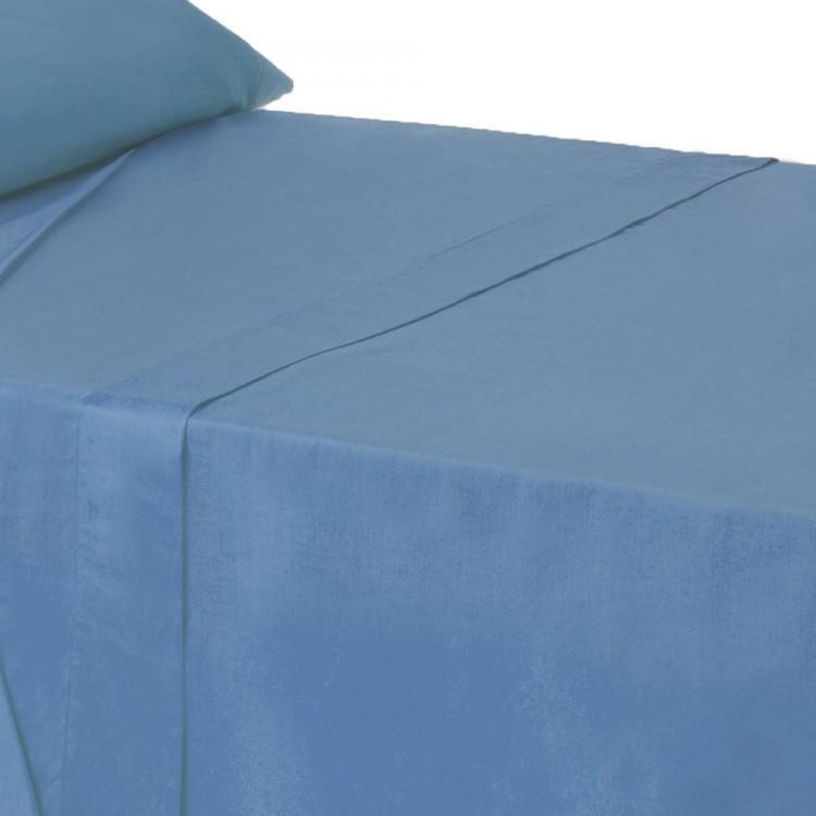 Sábana encimera de algodón para camas de 90 - Hogar y más