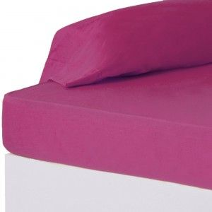 Bottom sheet Fuchsia of the best quality - Home and more
