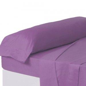Funda de almohada lila para camas de 90 - Hogar y más