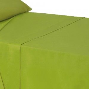 Sheet countertop deep green color for bed of 90 - Home and more