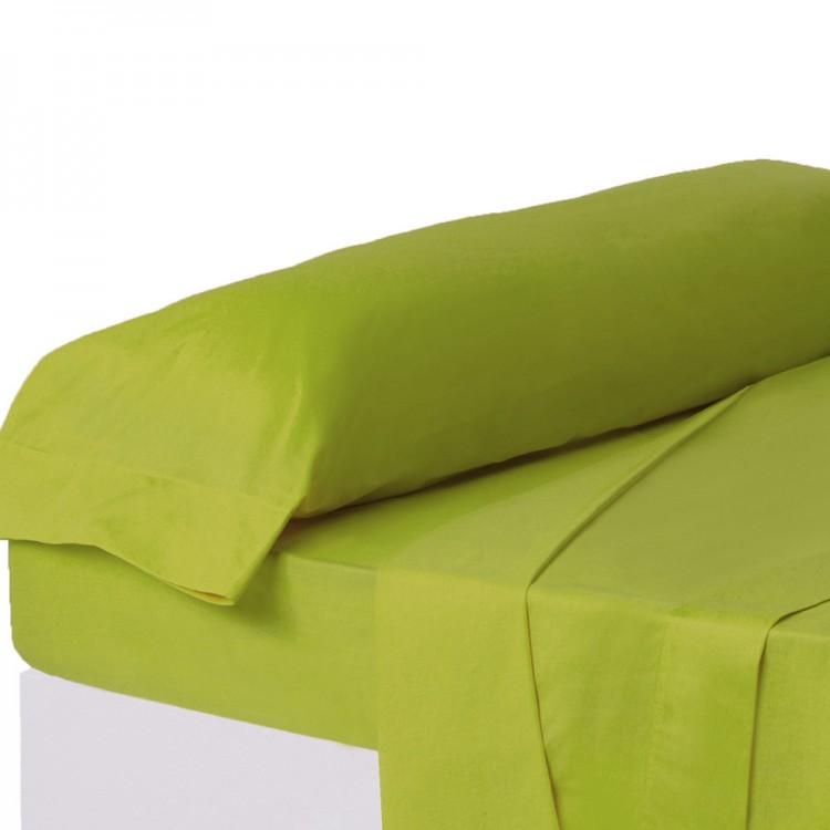 Funda para almohada de color verde intenso para camas de 90 - Hogar y más