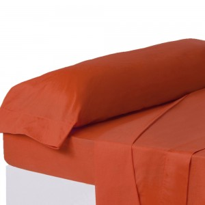 Cover for pillow with an intense red color to beds of 90 - Home and more