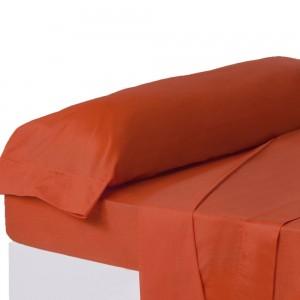 Funda para almohada de color rojo intenso para camas de 90 - Hogar y más