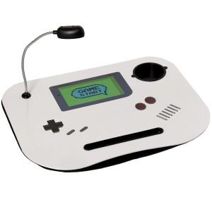 """Bandeja de ordenador acolchada y práctica con diseño divertido de """"GameBoy"""" Lampara Led  - Hogar y Más"""