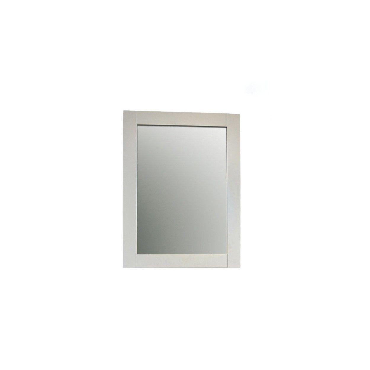 Espejo de pared color blanco elegante para entrada england - Espejos para pared ...