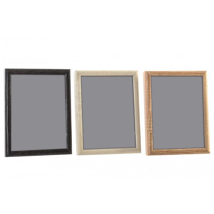 Marco portafoto de sobremesa de madera en 3 colores. Diseño Original - Hogar y Mas