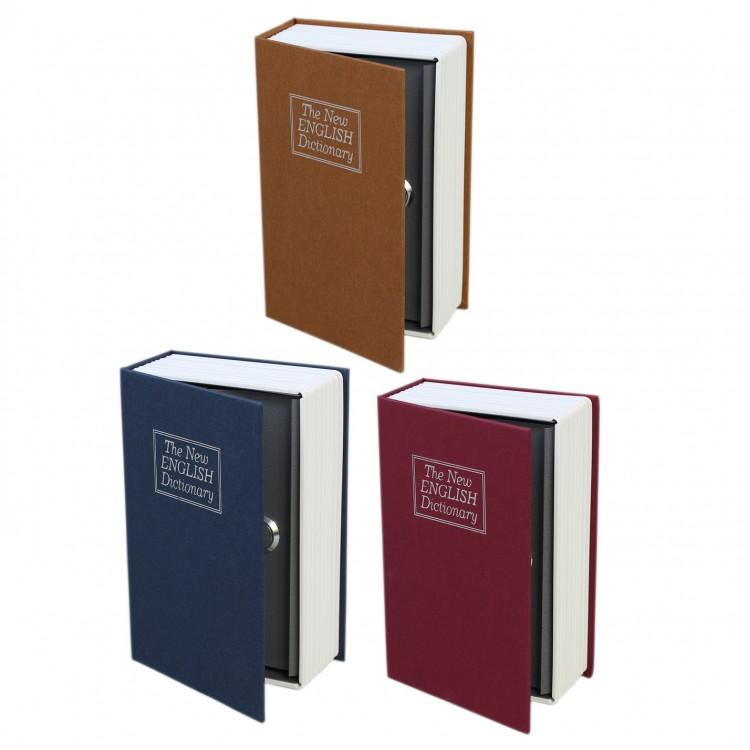 Caja fuerte Libro para guardar tus secretos  LockSafe - Hogar y Mas